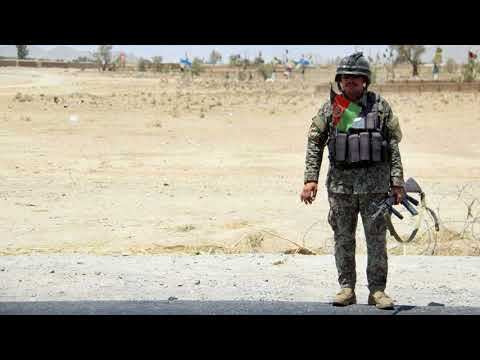 News Update Afghan army base destroyed by Taliban suicide bombers 19/10/17