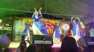 Dharmic Naujawaan Dance Group perform at Guyana Motorcade 2017