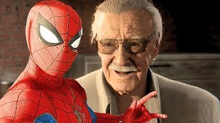 Spider-Man PS4 Stan Lee Cameo! Spectacular Difficulty 4k Ultra HD 2160p