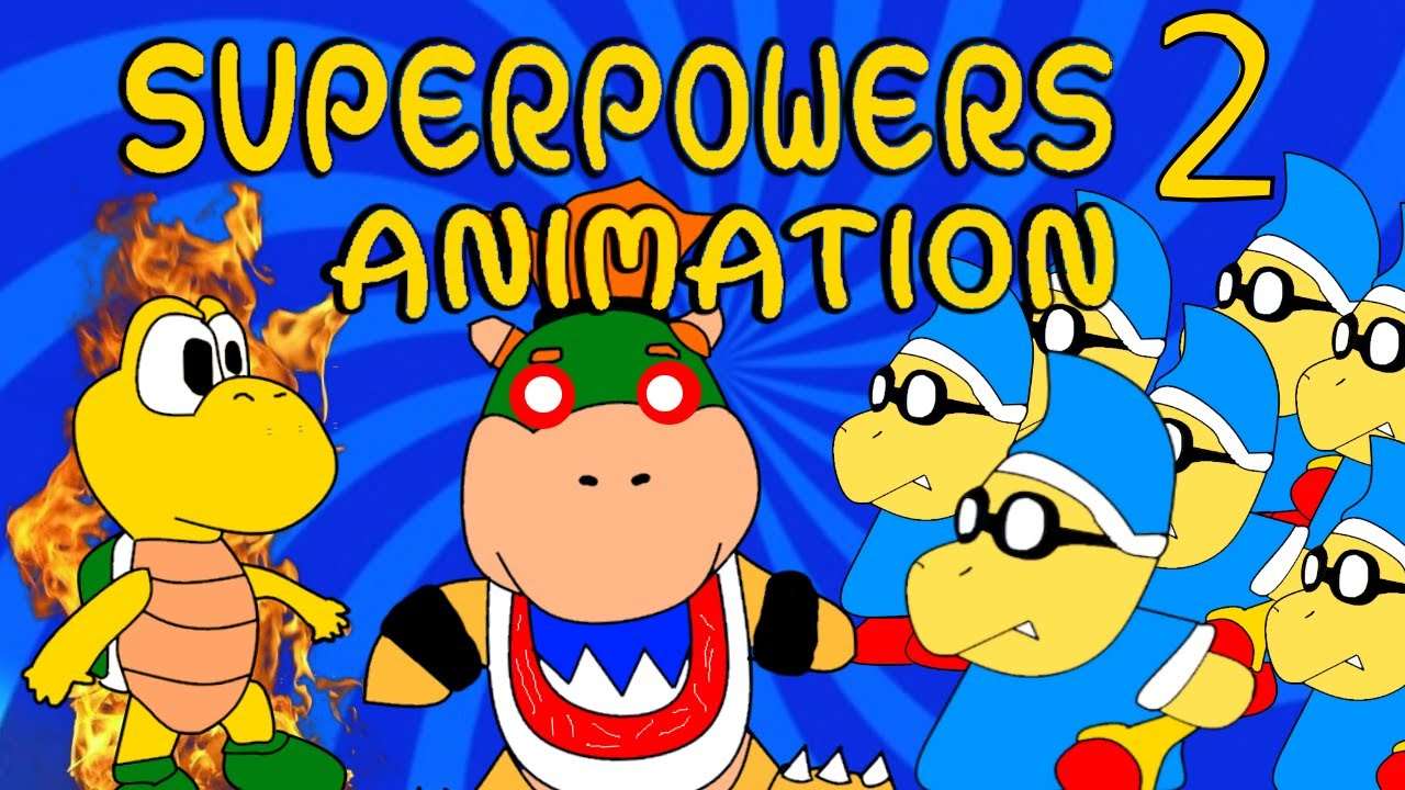 Sml Movie Superpowers 2 Animation Youtube