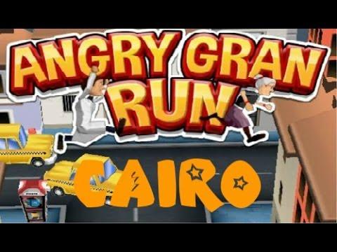 Online Angry Gran Run Games Angry Gran Run Cairo