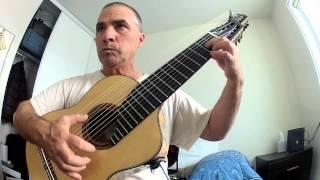 Weiss Presto sc-28 13 String Dresden Guitar