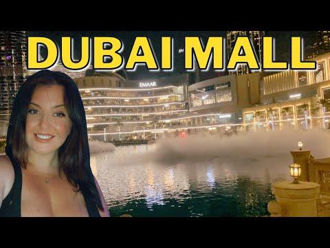 Dubai Mall, Timeout Market & Fountain Show   2021