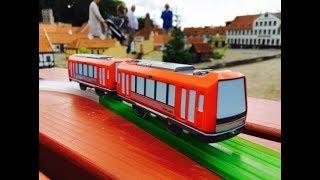 Plarail Hakone Tozan Railway series 3000 プラレール 箱根登山鉄道 3000形 visit Kolding Miniby, Danmark (04252)