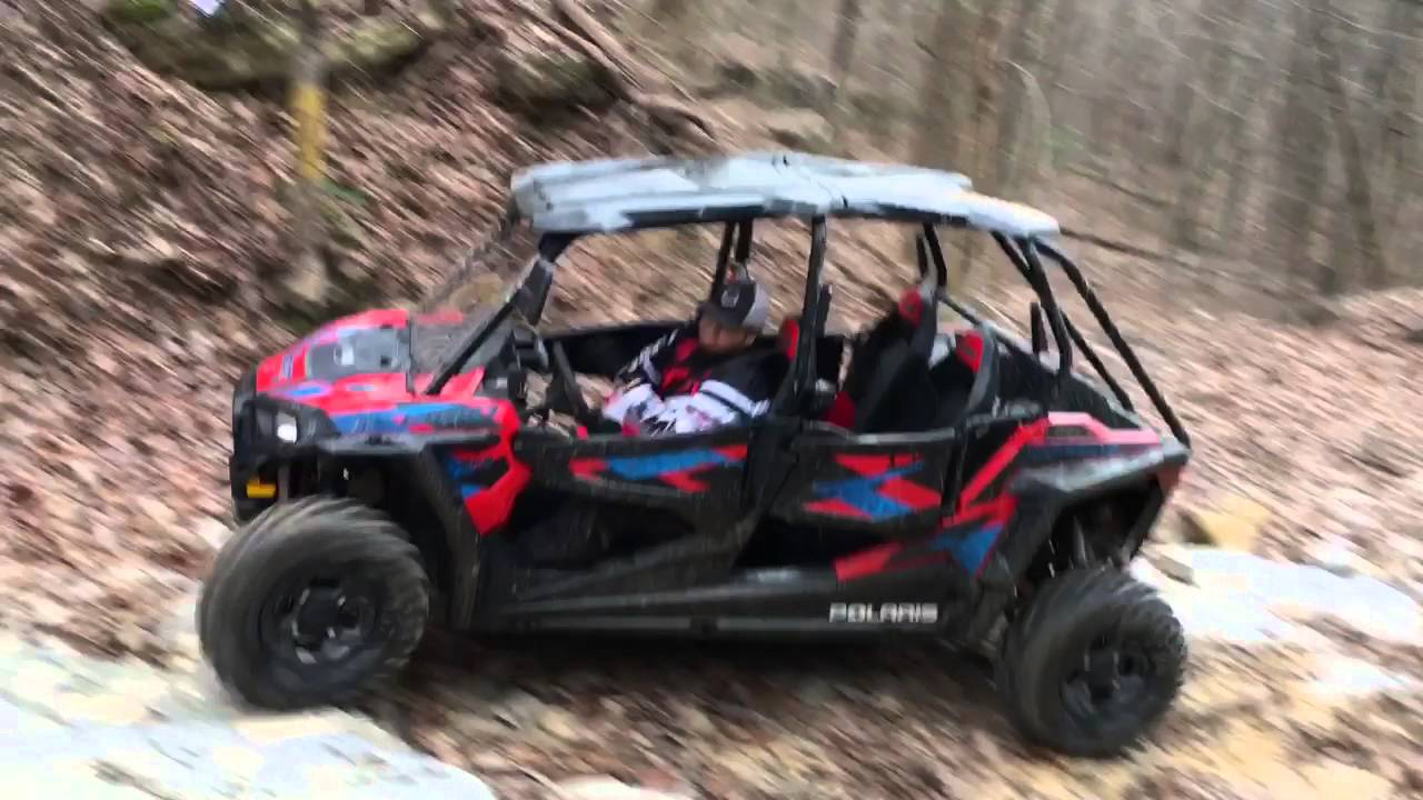 Going Up Turn Pike In The 2016 Rzr 4 900