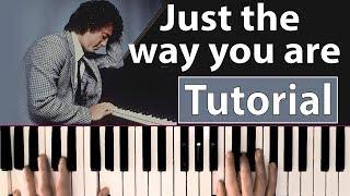 Como tocar Just the way you are(Billy Joel) - Piano, tutorial, partitura y Mp3