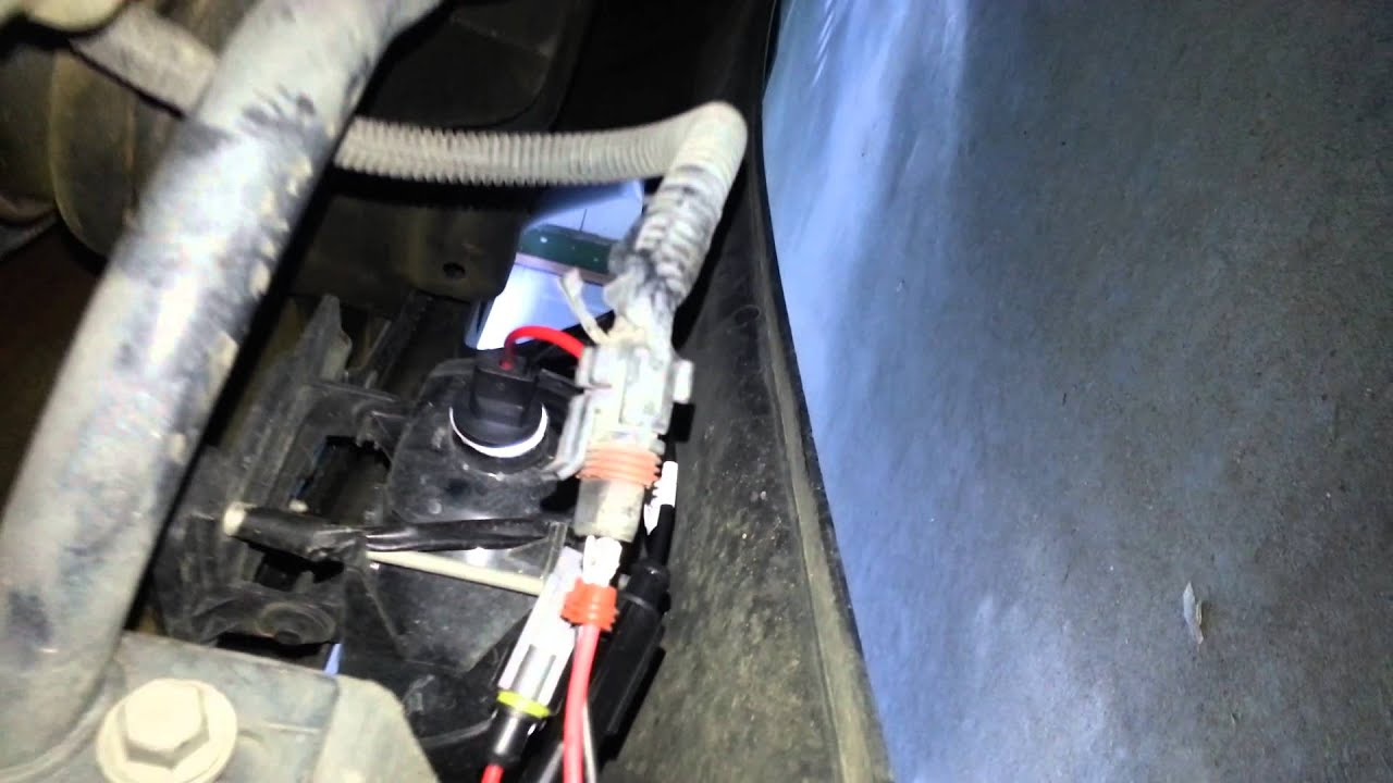 maxresdefault how to install hid fog lights on a 99 04 silverado youtube fog light wiring harness install at panicattacktreatment.co