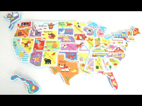 USA Map in the Tub from Alex Brands  YouTube