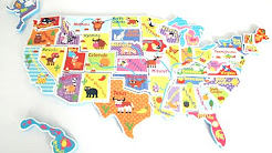 Giant foam world map puzzle youtube giant foam world map puzzle sciox Image collections