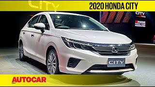EXCLUSIVE: 2020 Honda City Walkaround | First Look Preview | Autocar India