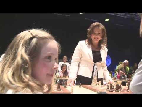 6-year-old Jane on meeting Judit Polgar - GCF 2016, Budapest