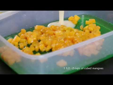 Mango Jelly Salad - Easy Dessert