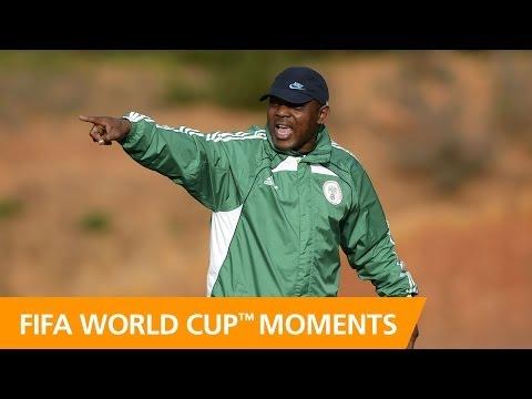 World Cup Moments: Stephen Keshi