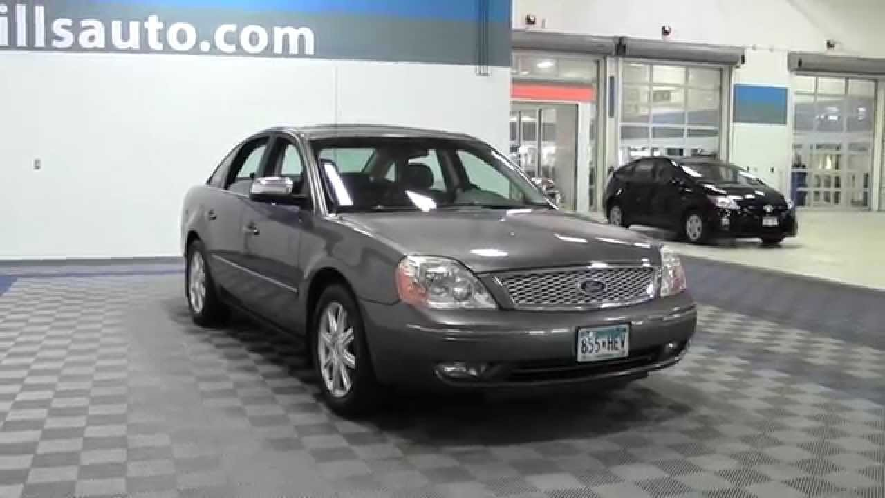 2005 ford five hundred limited awd 1f150119b youtube