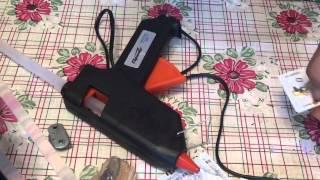 Смотреть видео как работает горячий клей-пистолет