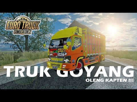 """VIRAL !!! Fenomena """"TRUK GOYANG"""" Jalur Pantura - ANTI GOSIP - ETS 2 Mod Indonesia - 동영상"""