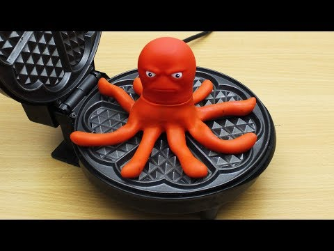 EXPERIMENT WAFFLE IRON vs Stretch Octopus