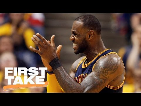 Is LeBron James An Unreliable 3-Point Shooter?   First Take   April 21, 2017