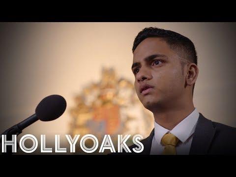 Hollyoaks: Imran Breaks The Silence