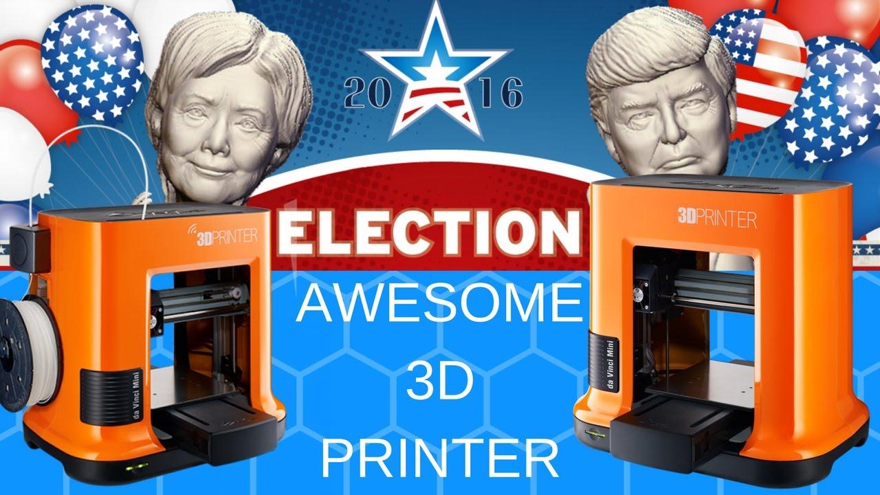 XYZPrinting da Vinci Mini Review - Affordable and Awesome 3D Printer!