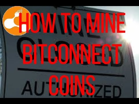 How To Mine Bitconnect Coins And How To Stake Bitconnect Coins