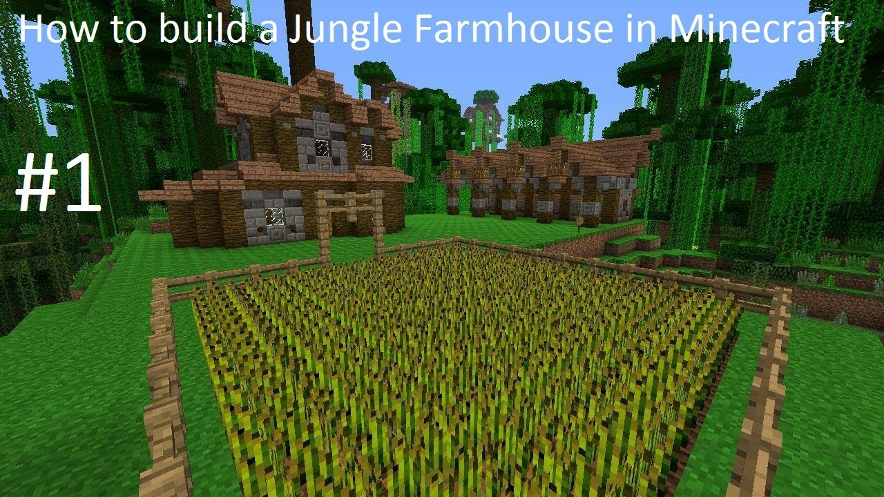 minecraft how to build farm