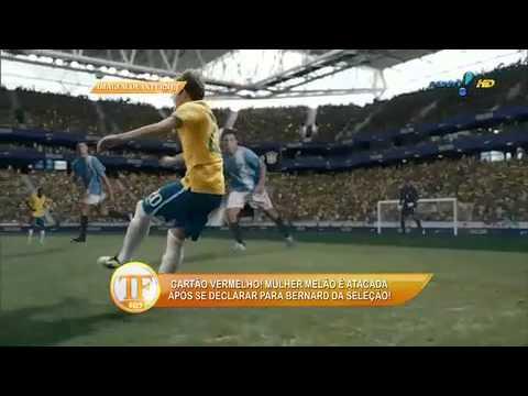 Fãs De Bernard Atacam Melão Na Web - TV Fama 23/06/2014