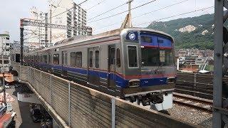 서울 전철 4호선 당고개역 사당행 서울교통공사 4000…