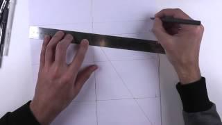 Рисуем шаблон стилистического ракурса