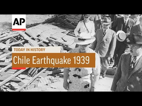 Chile Earthquake - 1939 | Today In History | 24 Jan 18