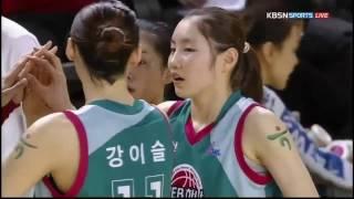 김지영 Highlight - 16.12.02 ( KEB하나은행 VS KB스타즈 )