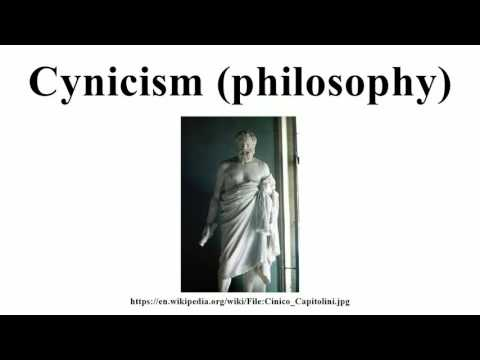Cynicism (philosophy)