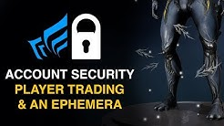 How To Enable 2FA, Free Ephemera, Account Security (Warframe)