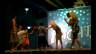 mini disco for kids by animation team @ sharm cliff resort 7/2009 ( sharm el sheikh )