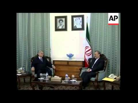 Iranian Foreign Minister meets French, German and UK ambassadors