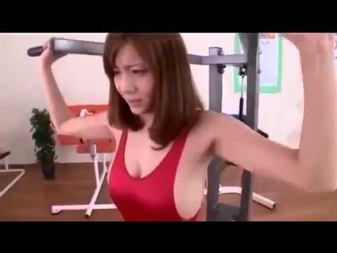 Hot Gym  Asian Girl