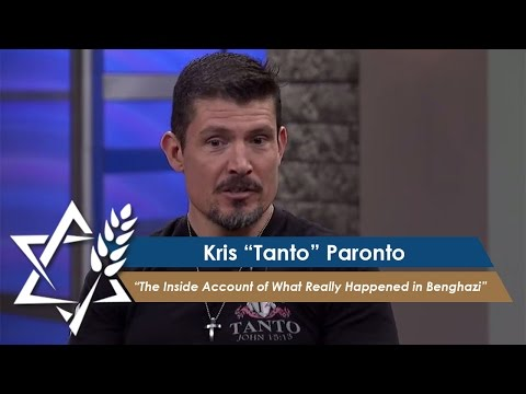 Kris Paronto: 13 Hours: What Really Happened in Benghazi (Part 1) (May 23, 2016)