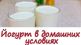 Йогурт в домашних условиях без йогуртницы