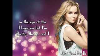 Bridgit mendler - hurricane (acoustic) with lyrics