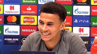 Dele Alli FULL Pre-Match Press Conference - Tottenham v Olympiacos - Champions League