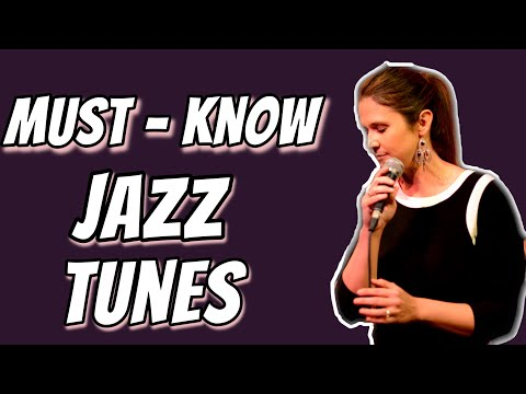 Aimee's Top 25 Jazz Standards To Know