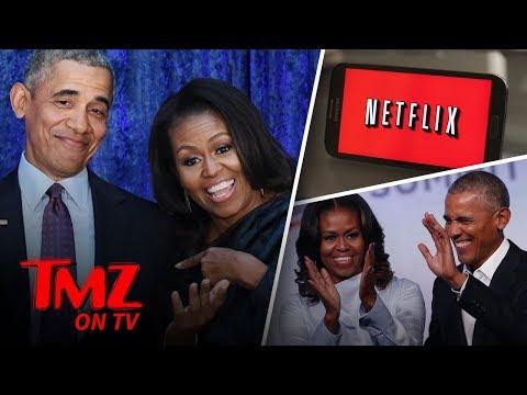 The Obamas Take Netflix | TMZ TV