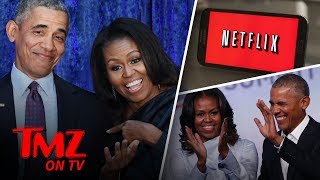 The Obamas Take Netflix | TMZ TV