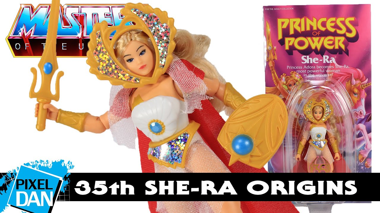 MOTU Origins She-Ra 35th Anniversary Figure Power-Con Exclusive Review | Masters of the Universe