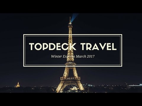 Topdeck Travel Winter Express | GOPRO HERO 4 HD | March 2017