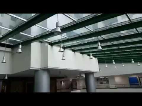 คลิปแรงสั่นสะเทือนจากแผ่นดินไหว ชั้น11 โรงพยาบาลพระมงกุฎเกล้า