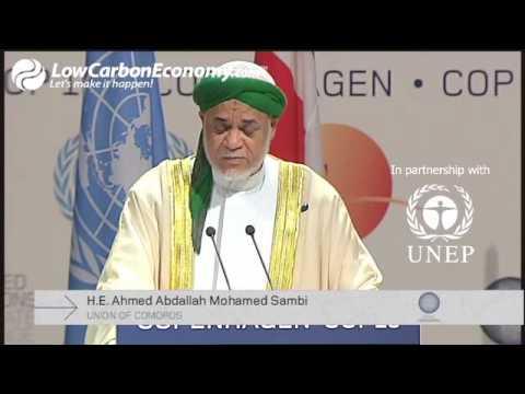 Union of Comoros - High Level Segment - COP15 - part 2