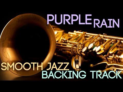 Purple Rain | Smooth Jazz Backing Track in Bb Major