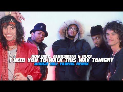 Boogie Hill Faders VS Run DMC, Aerosmith & INXS - I Need You To Walk This Way Tonight (BHF Mashup)