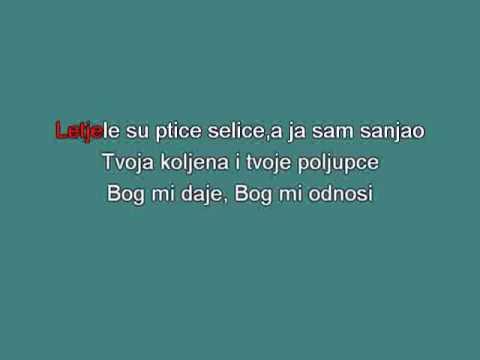 Bijelo Dugme   Ruzica Si Bila [karaoke]